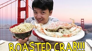 Video ROASTED Crab & GARLIC Noodles in San Francisco MP3, 3GP, MP4, WEBM, AVI, FLV Juni 2019