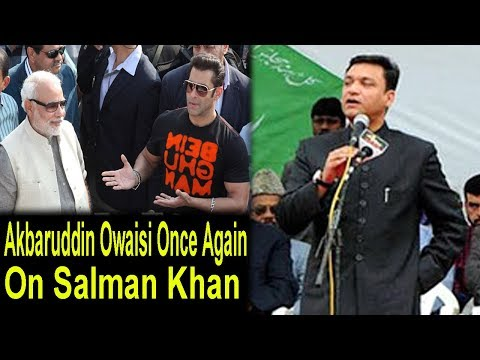 Video AIMIM's Owaisi Once Again On Salman Khan download in MP3, 3GP, MP4, WEBM, AVI, FLV January 2017