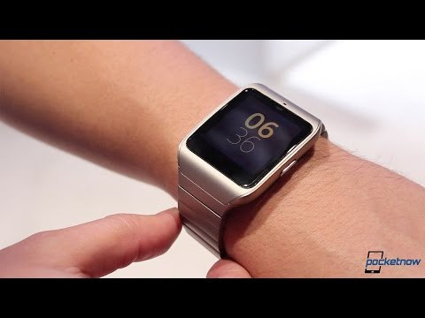Sony SmartWatch 3 In Metal (CES 2015 Hands-on)