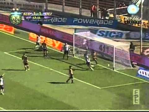 Gol de David Vega ante San Lorenzo (Apertura 2010)