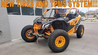 9. 2020 CAN AM MAVERICK X3 X RC TURBO RR NEW TIRES AND TPMS SYSTEM