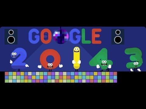 Imagens de feliz ano novo - a mensagem por trás da imagem ano novo 2014 da Google