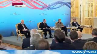 Video Скандал в прямом эфире Путин vs Меркель MP3, 3GP, MP4, WEBM, AVI, FLV Oktober 2017