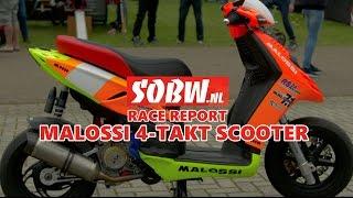 3. SOBW - Malossi Super Scooter 4-Stroke 218cc | Aprillia | Piaggio Typhoon | 4K/UHD