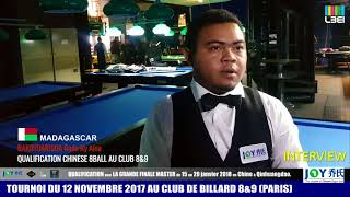 17/18 - CHINESE 8BALL - Interview