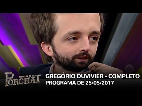 Programa do Porchat com Gregório Duvivier