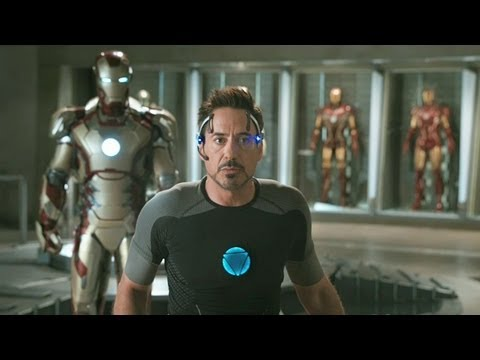 Hollywood.com - http://www.hollywood.com 'Iron Man 3' Trailer HD Director: Shane Black Starring: Robert Downey Jr., Guy Pearce and Gwyneth Paltrow Tony Stark uses his ingenu...
