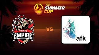 Team Empire против 20 min afk les, Первая карта, BTS Summer Cup