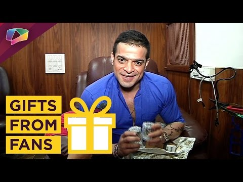 Karan Patel receives gifts from his fans