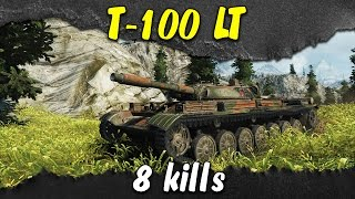 Nonton World of Tanks - T-100 LT, Fast and furious | 6k damage, 8 kills Film Subtitle Indonesia Streaming Movie Download