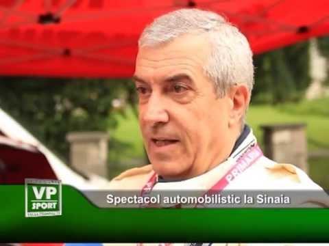 Spectacol automobilistic la Sinaia