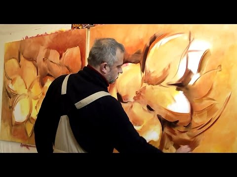 Abstract painting, abstrakte Malerei