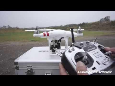 ファントムとGoPro3を使用した業務空撮を開始致しました。