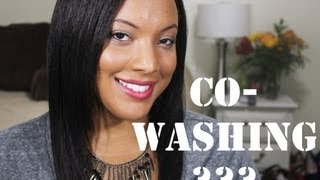 Hair 101: What is CO-WASHING?? And How To Co-wash (Natural, Texlaxed or Relaxed) - YouTube