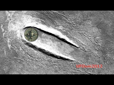 На Марсе обнаружено место посадки НЛО