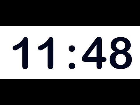 Cronômetro 60 minutos - 60 minute timer - Chronometer