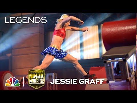 Jessie Graff: First Woman to Advance to City Finals - American Ninja Warrior