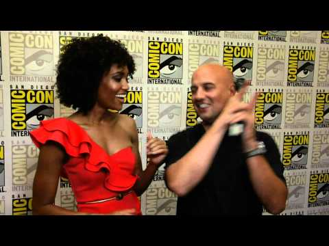 chuckthemovieguy - Chuck the Movieguy interviews and crushes on Annie Ilonzeh who plays Kate Prince on the new Charlies Angels TV reboot.