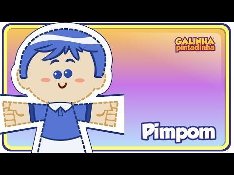 PIMPOM - Clipe Música Oficial - Galinha Pintadinha DVD 4