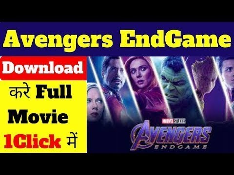 Avengers endgame full movie download in dual audio 720p