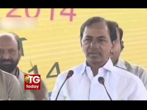 CM Kcr Inaugurated poultry india 2014
