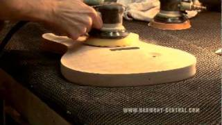 PRS Factory Tour Part 1 of 4 - Rough Cut and Body Construction