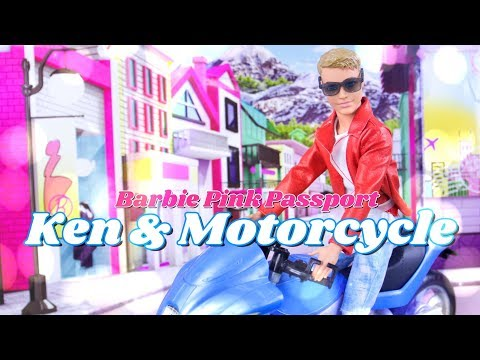 Unbox Daily: Barbie Pink Passport Ken & Motorcycle  Sunglasses  Fashion & More
