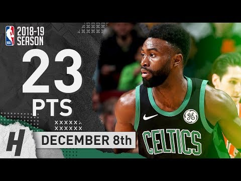 Jaylen Brown Full Highlights Celtics vs Bulls 2018.12.08 - 23 Points off the Bench!