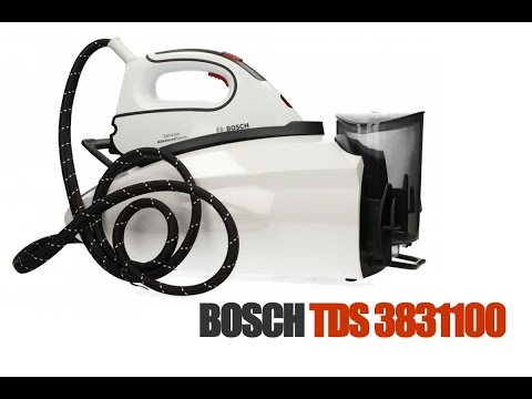 Парогенератор Bosch TDS 3831100 обзор и распаковка  Steam generator Bosch TDS 3831100 review