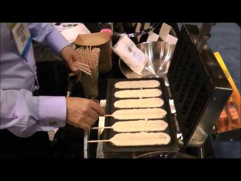 Macchina per waffle a stecco rotante - Semar