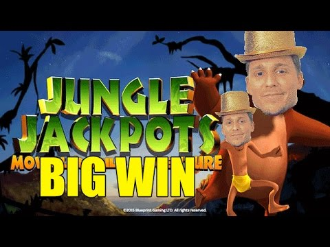 Online slots HUGE WIN 10 euro bet – Jungle Jackpots BIG WIN