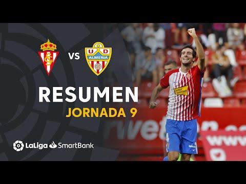 Resumen de Real Sporting vs UD Almería (4-2)