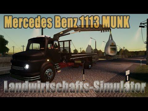 Mercedes Benz 1113 MUNK BETA