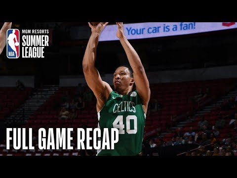 Video: CELTICS vs GRIZZLIES | Grant Williams Leads All Scorers With 21 | MGM Resorts NBA Summer League