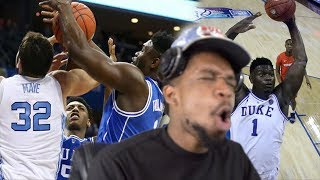 THAT BOYS GOIN #1!! DUKE vs UNC & SYRACUSE HIGHLIGHTS