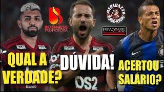 Jornalista diz que Guarín acertou salário! Outro afirma que Gabigol renovou! E. Ribeiro é dúvida!