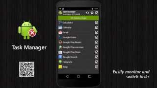 Task Manager (Task Killer) YouTube video