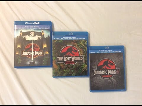 Jurassic Park 3D: Complete Trilogy (1993-2001) - Blu Ray Discussion Review and Unboxing