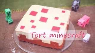 Przepis na tort Minecraft