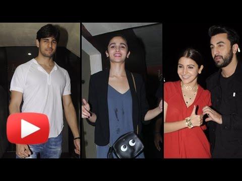 Alia Bhatt, Sidharth Malhotra & Stars At Ae Dil Ha