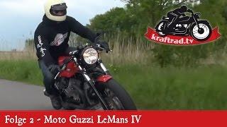 9. kraftrad.tv Folge 2 - Moto Guzzi LeMans IV