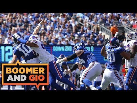 Video: Josh Allen vs Eli Manning | Boomer & Gio
