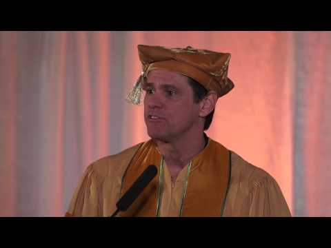 Jim Carrey's Address to the 2014 MUM Graduation