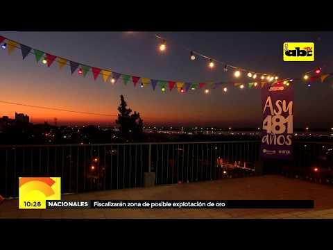 Cinco días de fiesta, arte y cultura por aniversario de Asunción