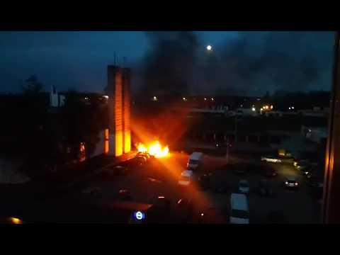 VIDEO: Zábery požiaru na sídlisku SNP v Michalovciach