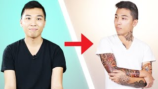 Video I Covered Myself With Tattoos For A Day MP3, 3GP, MP4, WEBM, AVI, FLV April 2018