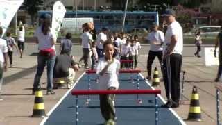 VÍDEO: Alunos do Projeto Educação em Tempo Integral participam de oficinas de esportes olímpicos