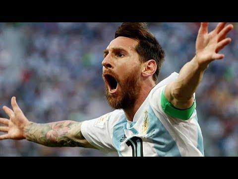 Fußball-WM Gruppe D: Kroatien und Argentinien im Achtelfinale, Nigeria und Island ausgeschieden