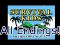 Survival Kids All Endings
