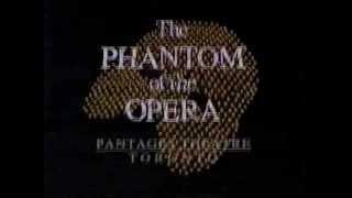 Phantom Of The Opera Ticket Promo (Buy Phantom By Phone)
